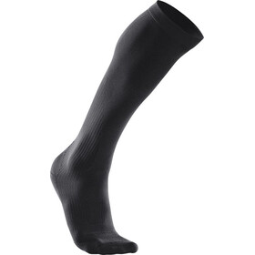 2XU Compression Performance Run Socks Women Black/Black